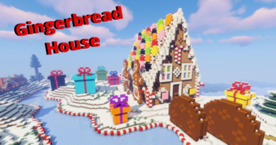 Gingerbread House – Survival Timelapse