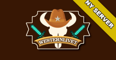 Ny server – WesternLivet